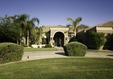 Beautiful home in suburban area Stock Photo