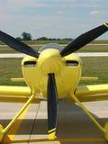 Beautiful homebuilt experimental Harmon Rocket kitplane. Stock Photo