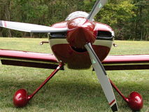 Beautiful homebuilt experimental Harmon Rocket kitplane. Royalty Free Stock Images