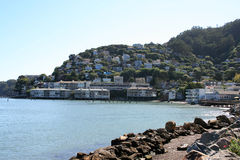 Beautiful Homes in Sausalito Stock Photos
