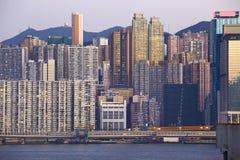 Beautiful HongKong cityscape Stock Photography
