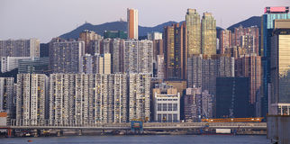 Beautiful HongKong cityscape Royalty Free Stock Images