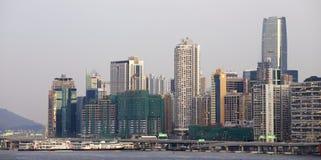Beautiful HongKong cityscape Stock Photos