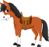 Beautiful horse cartoon Royalty Free Stock Image
