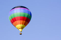Beautiful hot air balloon Stock Photos