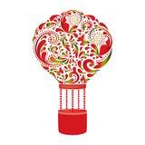 Beautiful hot air balloon. Royalty Free Stock Image