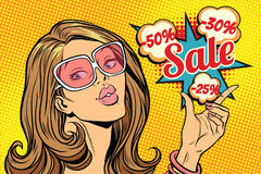 Beautiful hot sale woman Stock Images