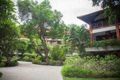 Beautiful hotel  in Bali Stock Image
