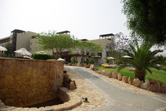 Beautiful hotel on the beach. Jordan. Stock Images