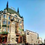 Beautiful hotel in Belgrade royalty free stock image