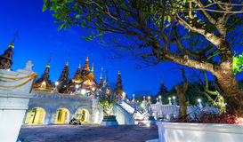 Beautiful Hotel Of Chiang Mai Thailand Stock Images