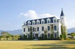 Beautiful Hotel in Khaoyai Royalty Free Stock Images