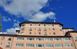 A Beautiful Hotel and Sky Stock Photography