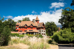Beautiful hotel in southern Chile Stock Images
