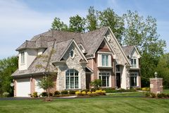 Beautiful house Royalty Free Stock Photography