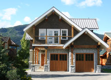 Beautiful house. stock image