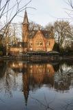 Beautiful house in Brugge,Belgium Stock Images