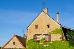 Beautiful house in Burgundy Stock Photography