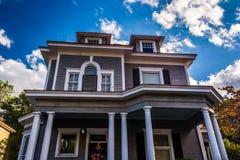 Beautiful house in Charleston, South Carolina. Royalty Free Stock Images