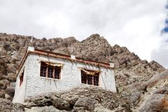 A beautiful house in the complex of Hemis monastery, Leh Royalty Free Stock Images