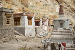A beautiful house in the complex of Hemis monastery Leh Ladakh ,India Royalty Free Stock Images