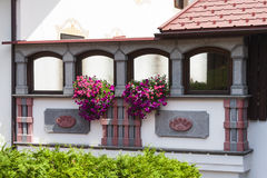 Beautiful House Detail, Austria Royalty Free Stock Image