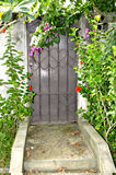 BEAUTIFUL HOUSE OF ENTRY Royalty Free Stock Photo