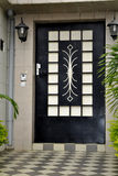 BEAUTIFUL HOUSE OF ENTRY Stock Photo