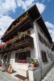 Beautiful house in Garmisch-Partenkirchen Stock Photo