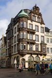 A beautiful house on the Market square in Trier city in Germany Stock Images