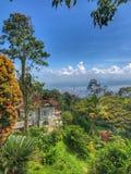 Beautiful house in Penang Island royalty free stock image