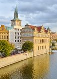 Historical Buildings in Prague, Czech Republic Royalty Free Stock Photos