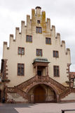 A beautiful house of Renaissance style in Selestat city in Franc Stock Image