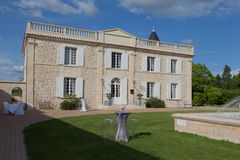 Beautiful house. Beautiful stone house in France royalty free stock photography
