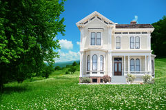 Beautiful house Stock Image