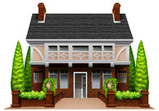 A beautiful house Royalty Free Stock Photo