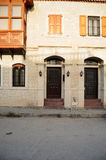 Beautiful houses of Alacati Stock Photography