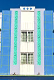Beautiful houses in Art Deco style stock photography