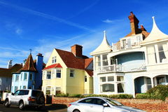 Beautiful houses Deal town Kent England Royalty Free Stock Images