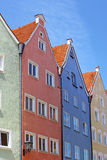 Beautiful houses in Fussen Stock Image