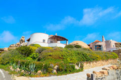 Beautiful houses in Gallura Royalty Free Stock Photography