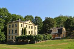 Beautiful houses Royalty Free Stock Photography