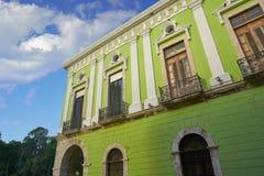 Beautiful houses in merida Stock Images