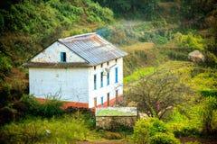 Beautiful Houses of Nepali village Royalty Free Stock Photos