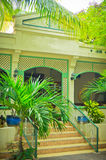 Beautiful houses at Philipsburg, St Maarten Stock Photography