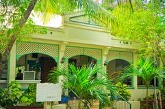 Beautiful houses at Philipsburg, St Maarten Royalty Free Stock Photos