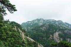 Beautiful Huangshan Mountain in China Royalty Free Stock Photos