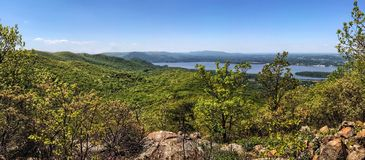 Beautiful Hudson River Valley Royalty Free Stock Photo