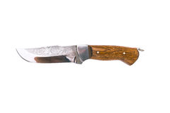 Beautiful hunting knife Royalty Free Stock Images