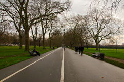 Beautiful Hyde park Stock Photography
